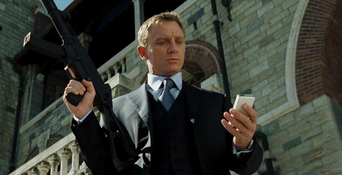 Sony телефон 007 агент sajbershot з фільму Казино Рояль фішка в казино