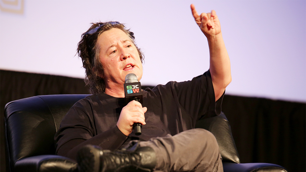 AUSTIN, TX - MARCH 17:  Christine Vachon, Executive Producer of Killer Films speaks onstage at the 'Christine Vachon Keynote' during the 2015 SXSW Music, Film + Interactive Festival at Austin Convention Center on March 17, 2015 in Austin, Texas.  (Photo by Heather Kennedy/Getty Images for SXSW)
